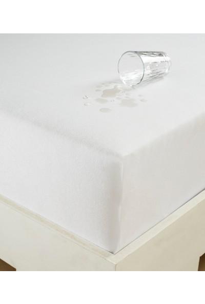Eponj Home Sıvı Geçirmez Çift Kişilik Fitted Alez 160x200 cm