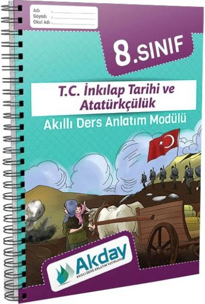 Akday 8.Sınıf T.C.İnkılap Tarihi Ve Atatürkçülük Akıllı Ders Anlatım Modülü