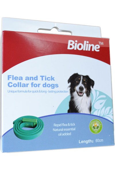 Bioline Köpek Bitkisel Pire Kene Uzaklaştırıcı Tasm
