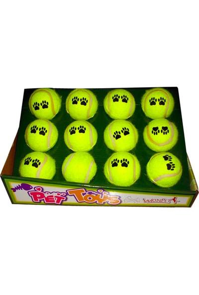 Wonpet Top Sünger Tenis 6,3 Cm (12'li Paket)