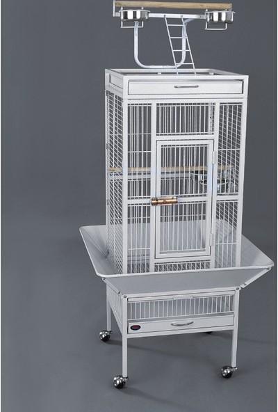 Dayang Papağan Kafesi Ayaklı 45.7 X 45.7 X 156 Cm