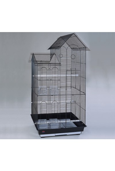 Dayang Köşk Çift Çatılı Kafes 52X41X108