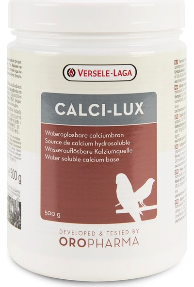 Versele-Laga Oropharma Calci-Lux(Kalsiyum Desteği)500G