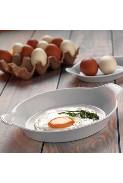 Kütahya Porselen Tavola Serisi Porselen Yumurta Sahanı