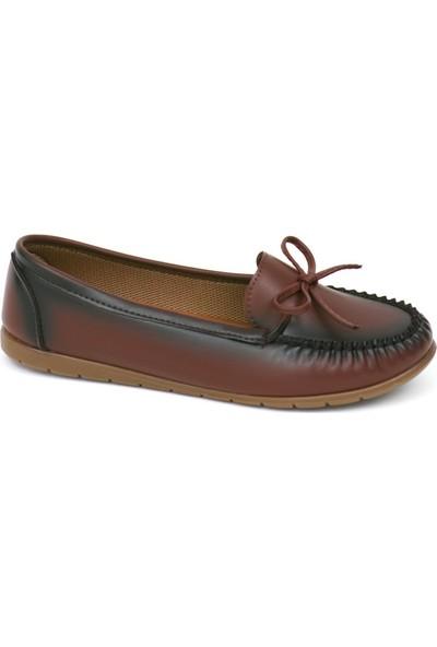 Zerrin Ayakkabı Bordo Tek İğne Bayan Ayakkabı 112991