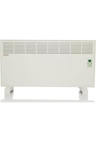 Vıgo Epk 4590 Beyaz Askı Dıjıtal 2500 Watt Konvektör Isıtiçi