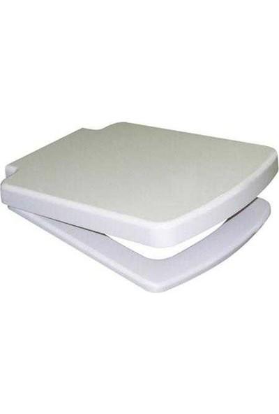 Ege Tyana Short Drp Soft.C Klozet Kapağı Beyaz 72120