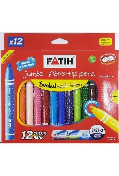 Fatih Keçeli Kalem Yıkanabilir Jumbo 12 Li 34260