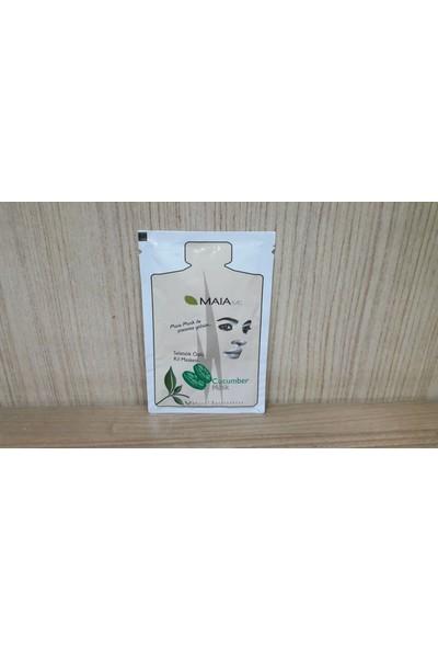 Maia Salatalık Özlü Tek Kullanımlık Kil Maskesi