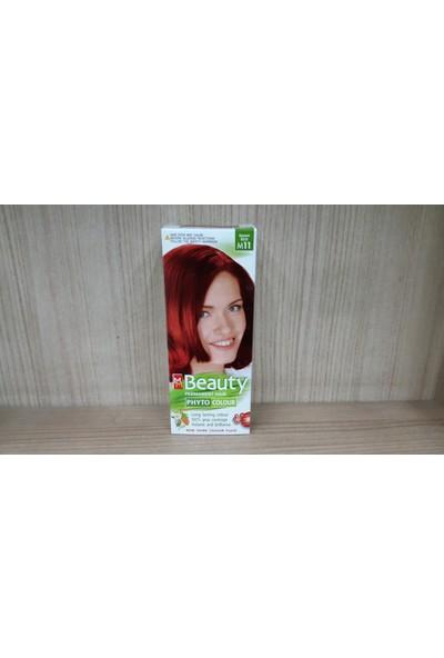 Mm Beauty Bitkisel Saç Boyası Aşk Alevi M11