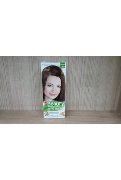 Mm Beauty Bitkisel Saç Boyası Fındık Kabuğu M06