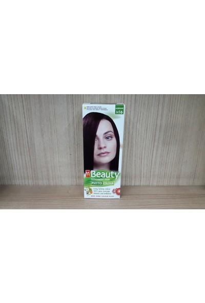 Mm Beauty Bitkisel Saç Boyası Patlıcan M16
