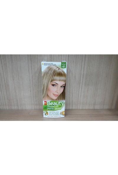 Mm Beauty Bitkisel Saç Boyası Platin Kumral M01