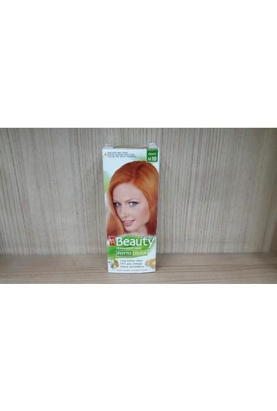 Mm Beauty Bitkisel Saç Boyası Renk Şeftali M10