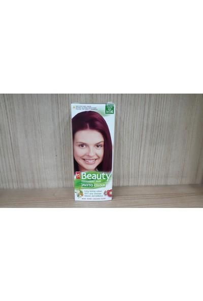 Mm Beauty Bitkisel Saç Boyası Vişne Kızılı M14