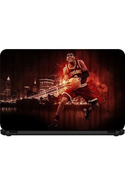 15.6 INC Notebook Sticker Kyrie Irving Kırmızı Sihir