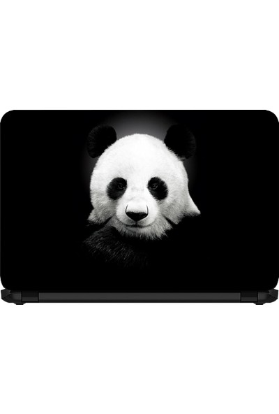 15.6 INC Notebook Sticker Sevimli Panda