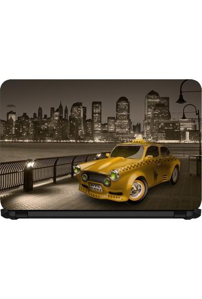 15.6 INC Notebook Sticker Klasik Taxi