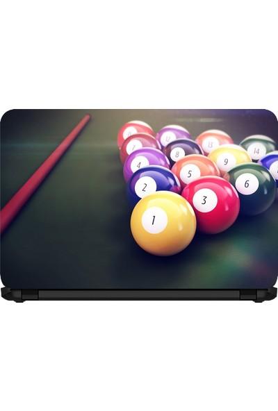 15.6 INC Notebook Sticker Bilardo Topları