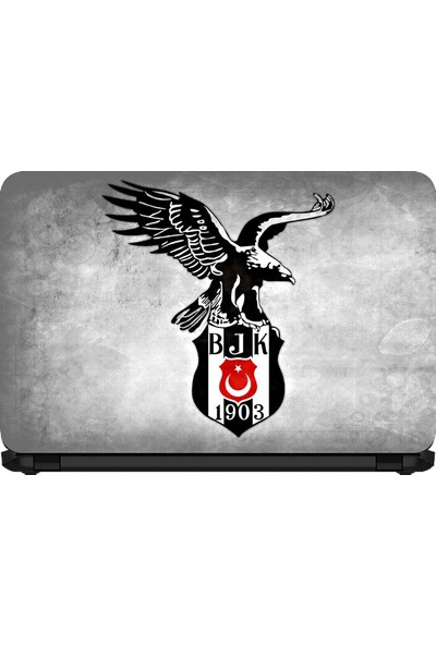 15.6 INC Notebook Sticker Şampiyon Beşiktaş Arma