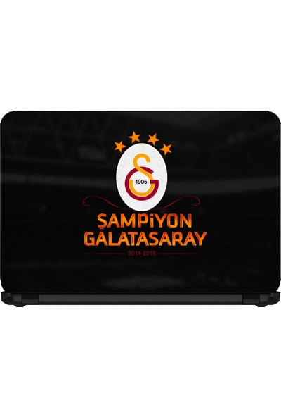 15.6 INC Notebook Sticker Şampiyon Galatasaray