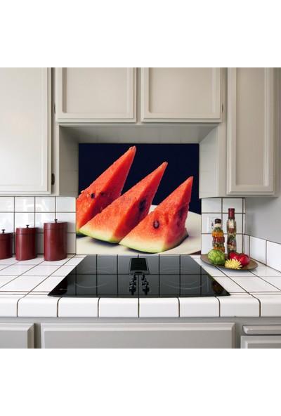 Kokmaz Bulaşmaz Silinebilinir Mutfak Karpuz Sticker 58 x 52 cm