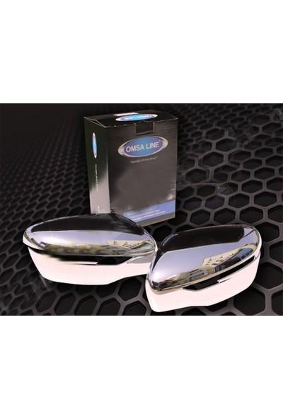 Omsa 5025111 Nissan X-Trail ABS Krom Ayna Kapağı ABS Plastik Kaplama- 2014 Sonrası 2 Parça (Sağ-Sol)
