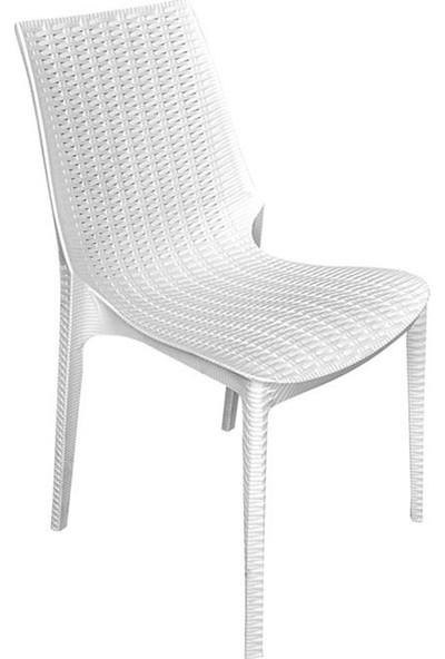 Plastıco Romans Rattan Kolsuz Sandalye