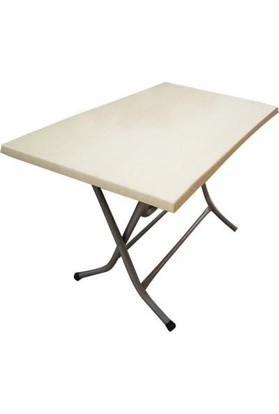 Plastıco70X120 Verzalıt Kırma Ayaklı Masa