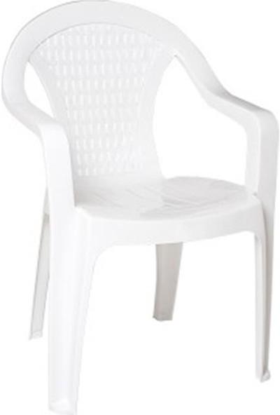 Sıesta 006 Samba Beyaz Koltukx35