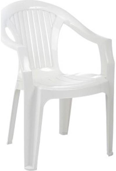 Sıesta 012 Lola Beyaz Koltukx35