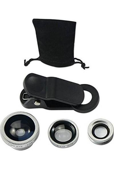 Original Boutique Evrensel 3 İn 1 Balık Gözü Lens