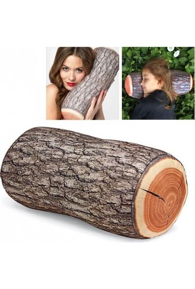 Pratik Odun Şeklinde Kütük Yastık