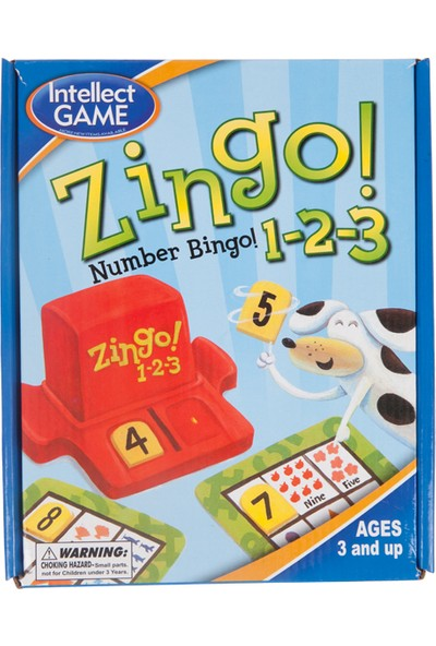 Hobi Eğitim Dünyası Zingo Number (Sayılar)