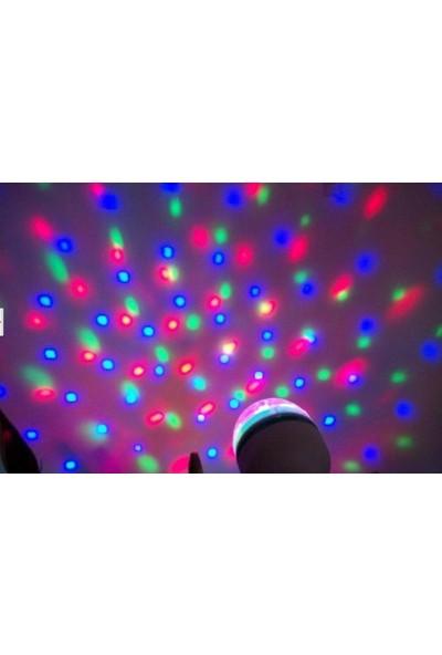 Original Boutique Disco Ampül Led Işıklı Döner Başlıklı - Magic Bulp