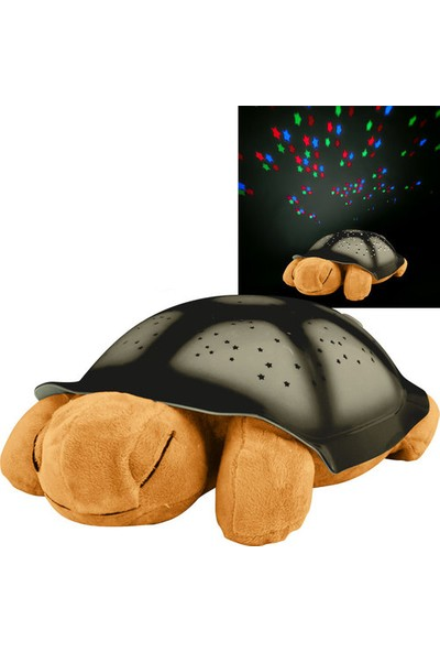 Pratik Renk Değiştiren Müzikli Kaplumbağa Gece Lambası