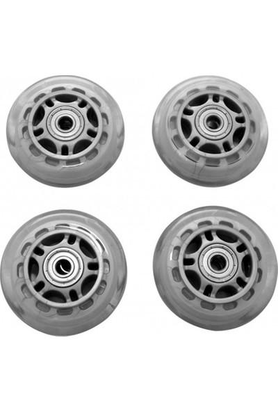 Voit İnline Skate Tekerlek Seti - 64mm-PVC