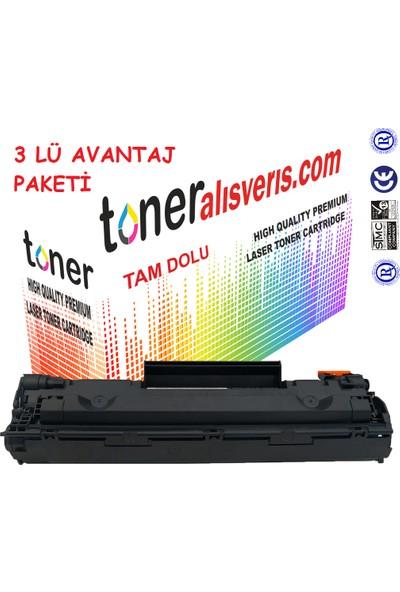 Paintter Hp Cf 283A 2Li Paket İtPaintteral Muadil Toner / M201, M125, M225, M128