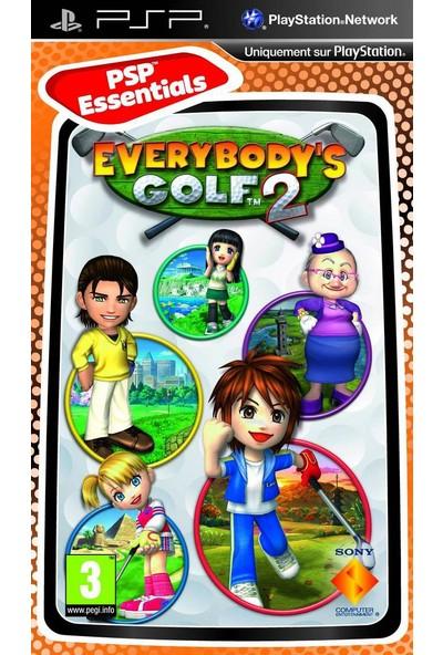 Sony Psp Everybody'S Golf 2