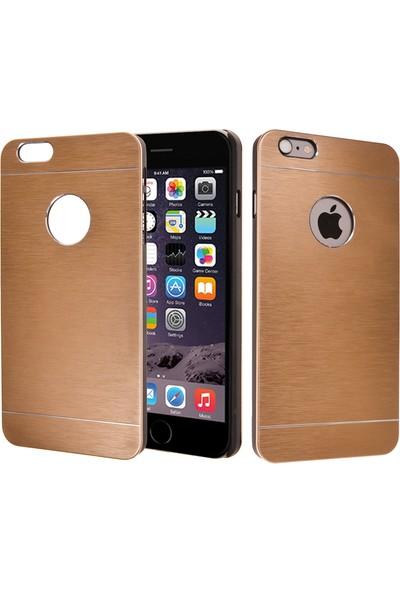 CaseUp Apple iPhone 6S Plus Kılıf Metal Korumalı Cam