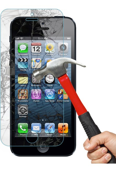 CaseUp iPhone 5 5S CaseUp Ekran Koruyucu
