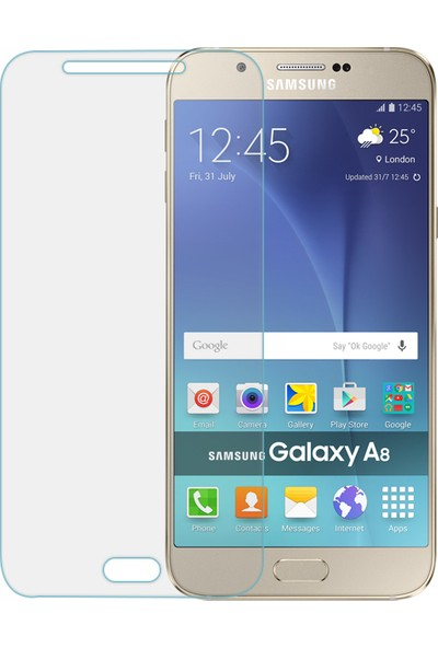 CaseUp Samsung Galaxy A8 CaseUp Ekran Koruyucu
