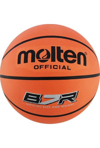 Molten Kahverengi Basketbol Topu B7R2-T indoor Outdoor Top Kaucuk