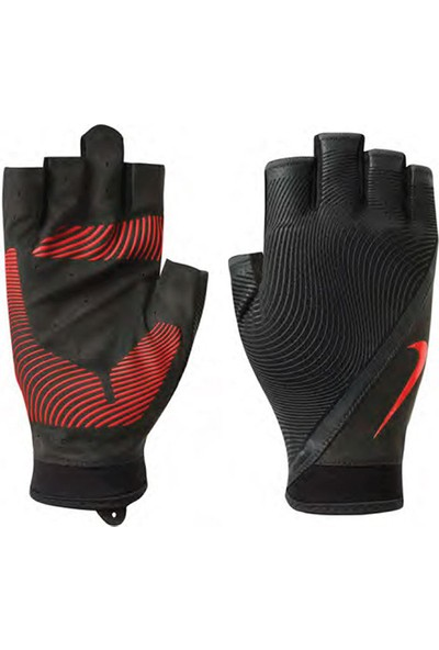 Nike Mens Havoc Trainig Ağırlık Eldiveni Siyah Kırmızı