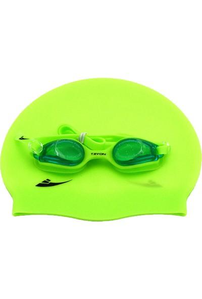 Tryon Ygs-2060 Yüzücü Gözlük Bone Seti