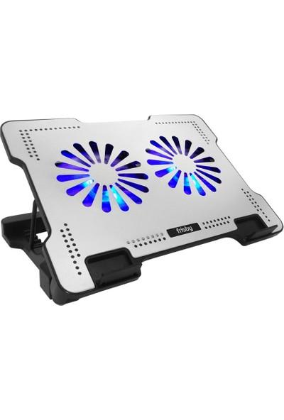 Frisby FNC-5220ST Alüminyum Oyuncu 2X14 CM Fan Notebook Soğutucu