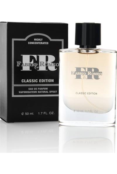 Fabrio&Romeo Classic Çekici Edp 50Ml Erkek Parfüm