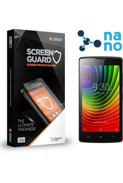 Dafoni Lenovo A2010 Nano Glass Premium Cam Ekran Koruyucu
