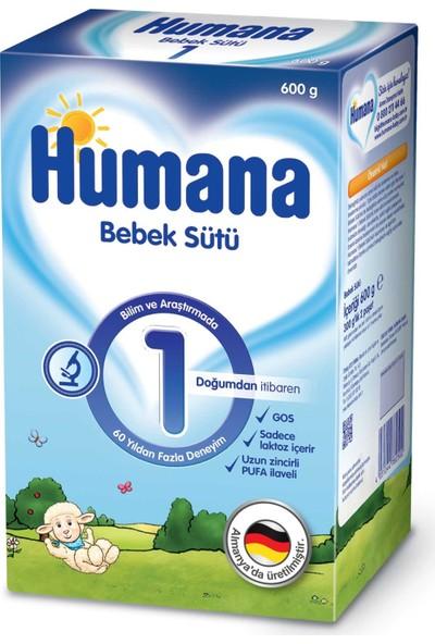 Humana 1 Bebek Sütü 600 gr