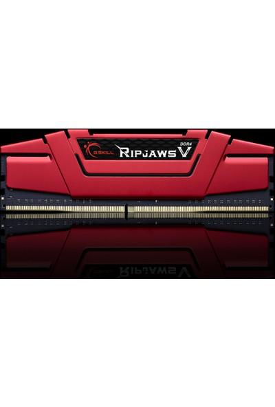 G.SKILL RipjawsV Kırmızı 8GB 3000MHz DDR4 Ram (F4-3000C15S-8GVRB)